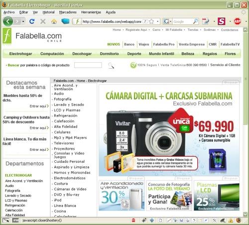 Saga Falabella Chile