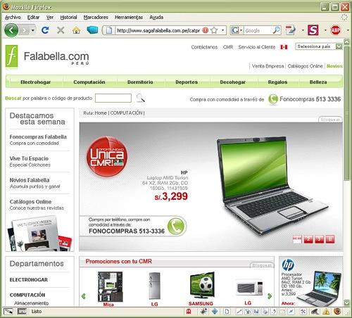 Saga Falabella - Perú