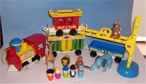 La Familia Feliz - Happy Family - Fisher Price